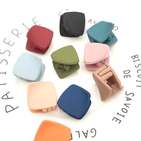 Épingle à cheveux de couleur unie irrégulière de diamant simple de mode coréenne NHDQ312739's discount tags