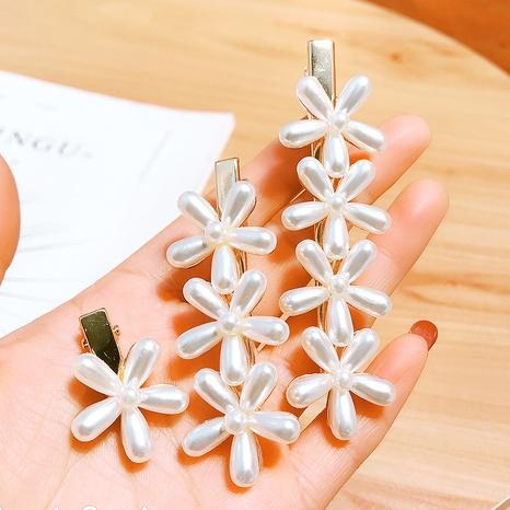 Épingle à cheveux fleur perle coréenne NHDQ312745's discount tags