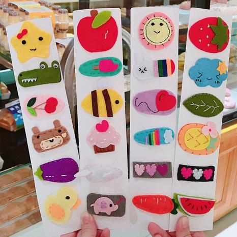 Horquilla de lana hecha a mano de dibujos animados coreanos NHDQ312764's discount tags