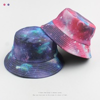 double-sided short brim fashion starry fisherman hat NHXO312841