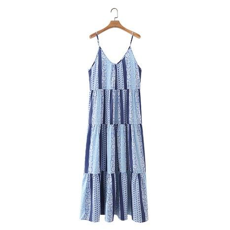 Mode Hosenträger langes Kleid NHAM312874's discount tags