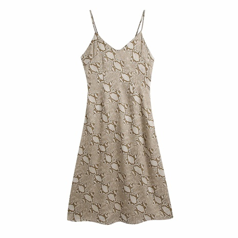 Mode Tierdruck Hosenträger Kleid NHAM312915's discount tags