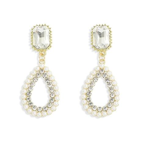 Mode übertrieben Stil Stil Perlenohrringe NHJQ313014's discount tags