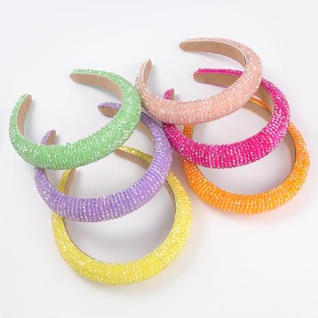 Koreanisches Acrylschwamm-Stirnband NHJE313024's discount tags