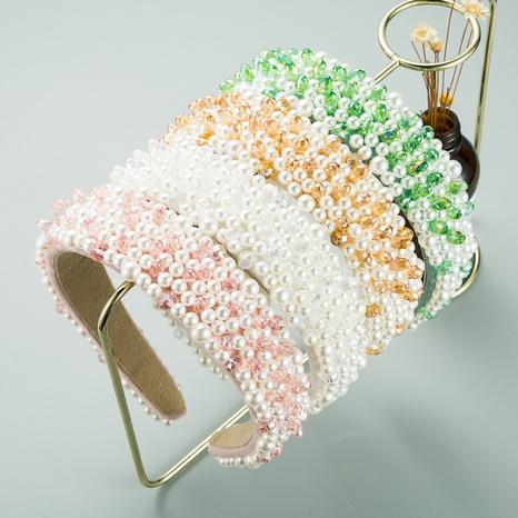 diadema de perlas barroca nueva moda NHLN313035's discount tags