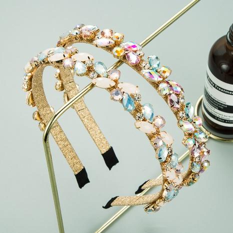 Diadema coreana simple en forma de flor NHLN313042's discount tags