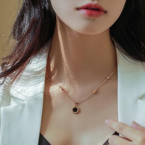 Collar de concha romana English love NHOK313043's discount tags