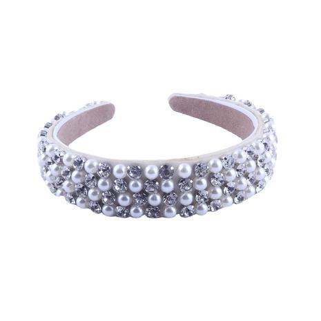 Diadema geométrica de perlas barrocas de nueva moda NHWJ313059's discount tags