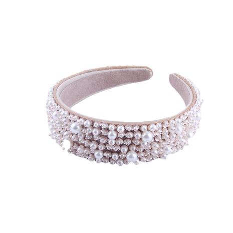 Nueva banda de pelo de perlas de moda NHWJ313061's discount tags