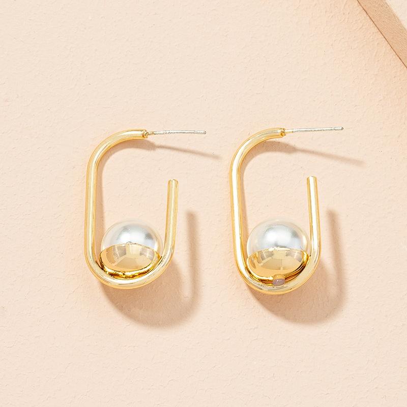 fashion freshwater pearl retro earrings  NHAI313078