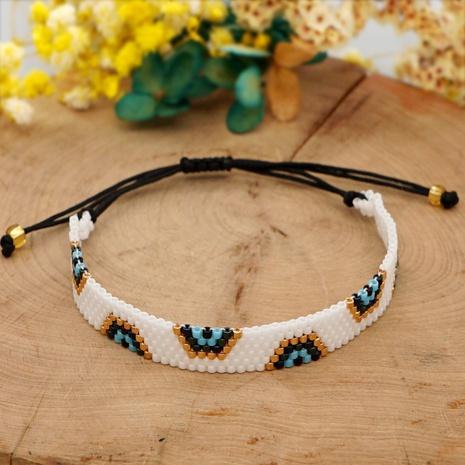 bohemian blue eyes Miyuki beads bracelet NHGW313118's discount tags