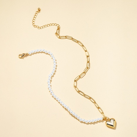 Collier de perles nouveau baroque NHQJ313212's discount tags