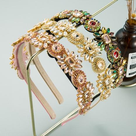 eingelegtes Glas Diamantblume Stirnband NHLN313213's discount tags
