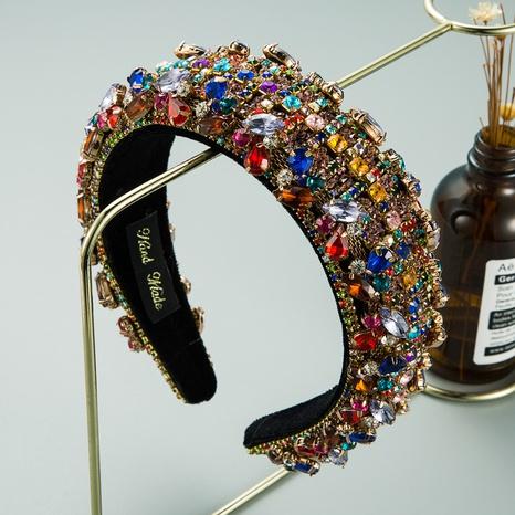 Breites Retro-Diamant-Breitband-Stirnband NHLN313216's discount tags