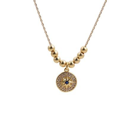 sechszackige Halskette mit Sternschlossschlüssel NHYL313313's discount tags