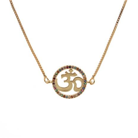 collier à pendentif couronne en zircon NHYL313320's discount tags
