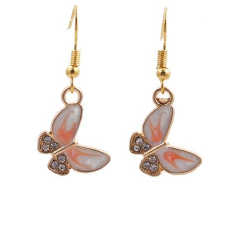 Nouvelles boucles d'oreilles papillon coréennes à la mode NHYL313342's discount tags