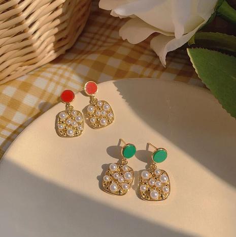 simple short retro earrings NHOT303651's discount tags