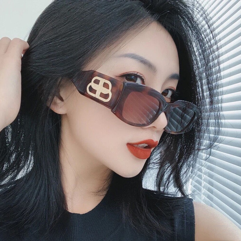 Korean new fashion concave shape sunglasses  NHKD313355