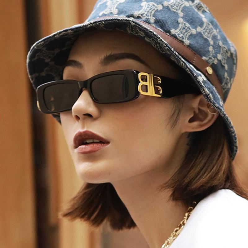 fashion square new retro sunglasses  NHKD313365