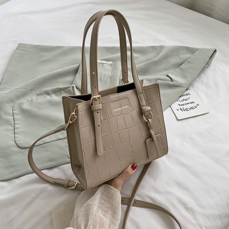 new fashion stone pattern wild messenger tote bag NHJZ313557