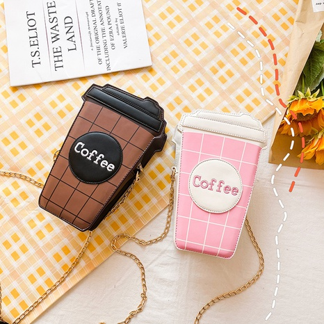 Funny new fashion coffee bag  NHTG313577's discount tags