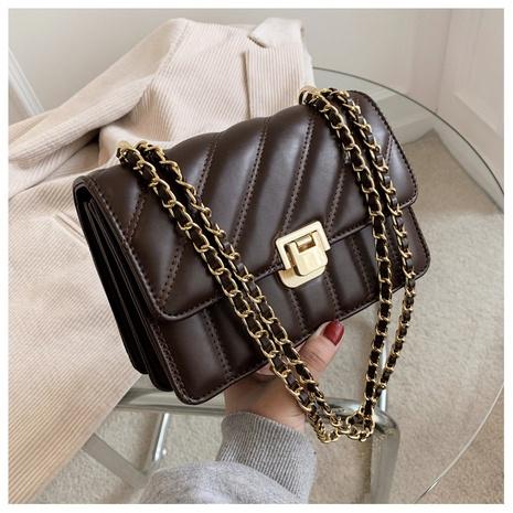Bolso de mensajero cuadrado rómbico de los bolsos de la tela escocesa del bolso de hombro de la moda NHTG313591's discount tags