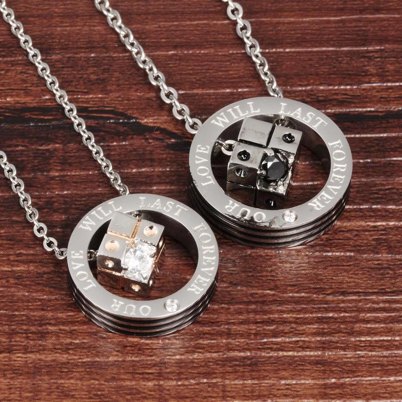 black diamond buckle necklace NHOP313435