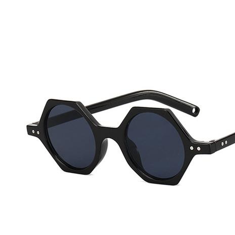 Nouvelles lunettes de soleil polygonales à ongles de riz NHKD313360's discount tags