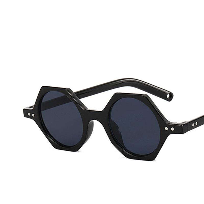 Rice nail polygonal new fashion sunglasses NHKD313360