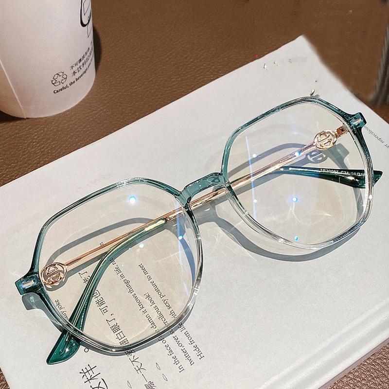 Korean simple fashion frame TR90 anti-blue glasses NHKD313364