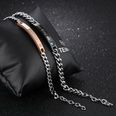 NHOP1442946-886-rose-gold-plated-black-couple-pair