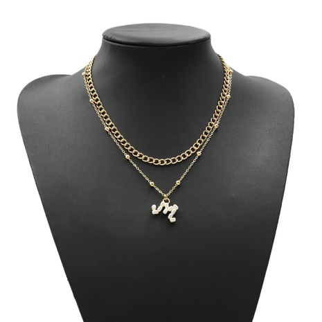 26 letters pearl necklace NHJQ303092's discount tags