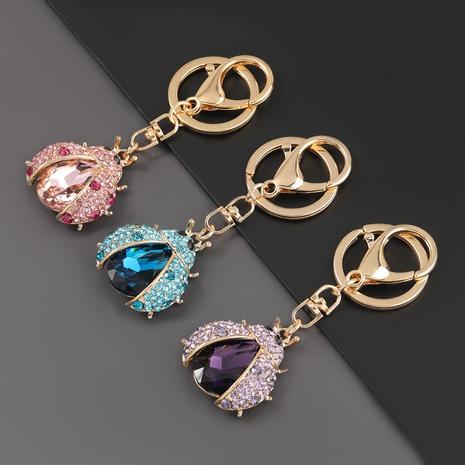 porte-clés coccinelle en alliage diamant NHJE303100's discount tags