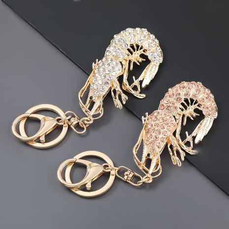 porte-clés crabe dessin animé serti de diamants en alliage NHJE303102's discount tags