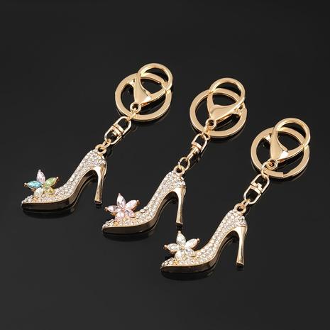 porte-clés talons hauts en alliage diamant NHJE303099's discount tags