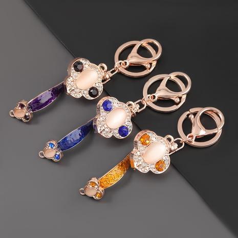 porte-clés pieux en alliage de diamant NHJE303107's discount tags