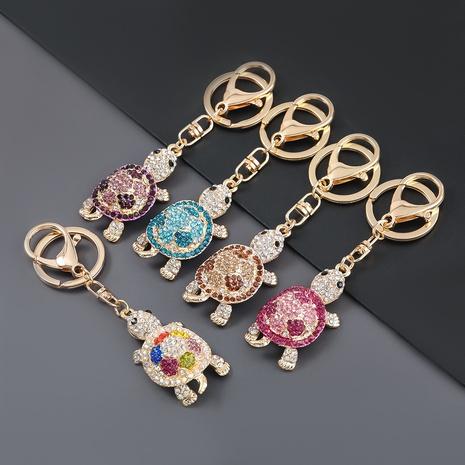 porte-clés tortue mignon serti de diamants en alliage NHJE303108's discount tags