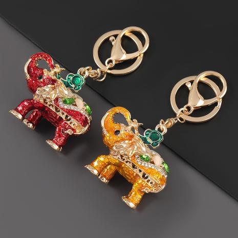 porte-clés éléphant en alliage de diamant NHJE303112's discount tags