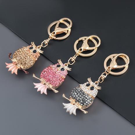 porte-clés hibou diamant alliage NHJE303121's discount tags