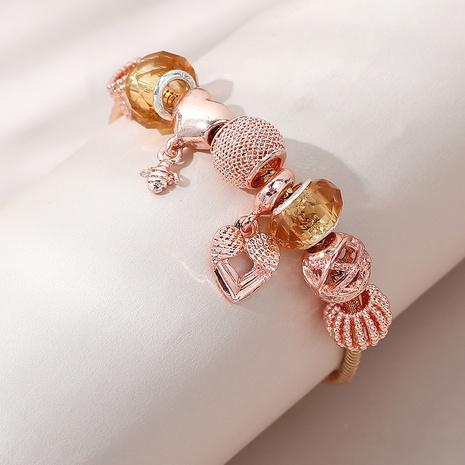 Korean wild creative popular heart shape bracelet NHPS303132's discount tags