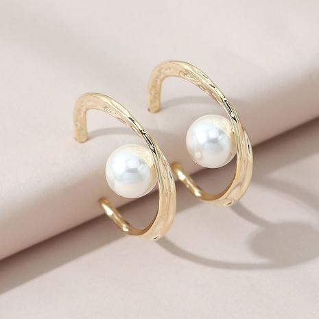 creative retro wild simple pearl earrings NHPS303173's discount tags