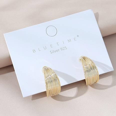 creative fashion S925 silver needle earrings NHPS303181's discount tags