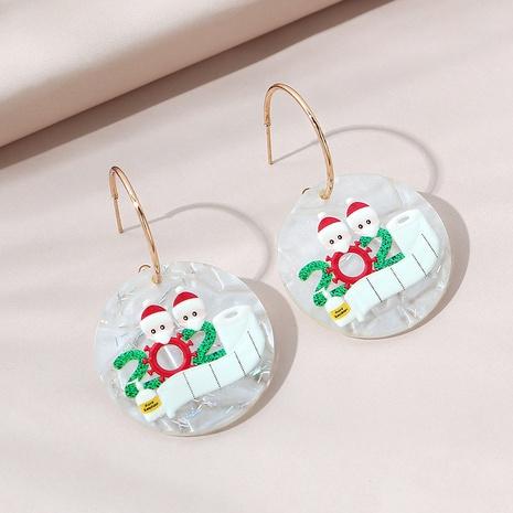 fashion popular Christmas earrings NHPS303183's discount tags