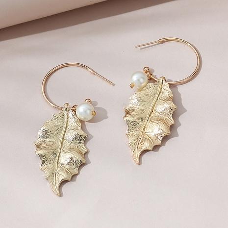 Korean retro fashion creative simple pearl earrings NHPS303188's discount tags