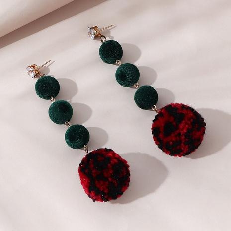 Korean creative fashion wild popular long earrings NHPS303202's discount tags