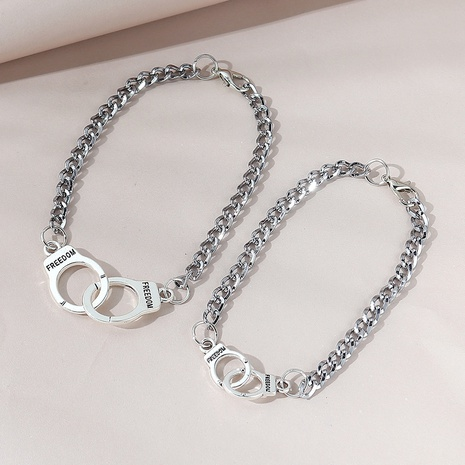fashion simple wild couple bracelet NHPS303205's discount tags