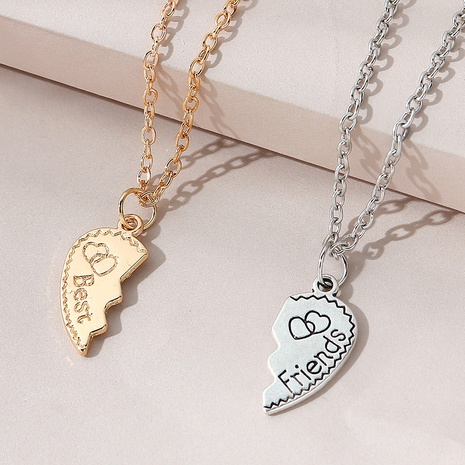 fashion creative wild trend couple necklace NHPS303206's discount tags