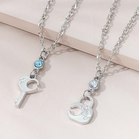 Collar de pareja popular salvaje creativa coreana NHPS303207's discount tags