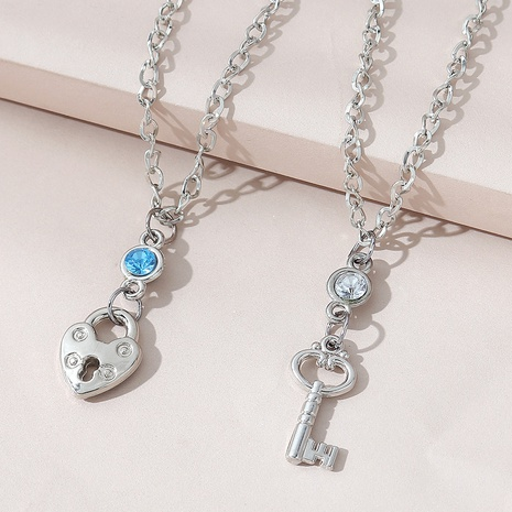 fashion wild creative couple necklace NHPS303214's discount tags